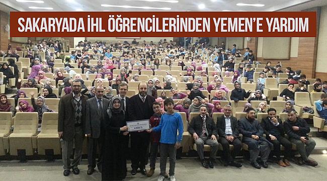 Sakaryada İhl Öğrencilerinden Yemen'e Yardım
