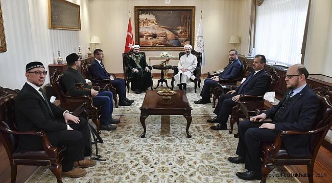 Tataristan Dini İdare Başkanlığından Diyanet'e ziyaret