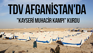 (TDV) Afganistan'a Muhacir Kampı