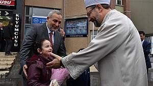 Diyanet İşleri Başkanı Erbaş, Erzincan'da