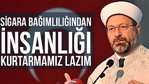 Erbaş Erzincan da Din Görevlileri ile buluştu