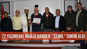 İngiliz Barber Müslüman oldu