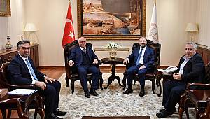 Rektör Durmuş'tan Başkan Erbaş'a ziyaret