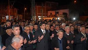 Sarıgöl'de 43 kişi umre ziyaretine uğurlandı