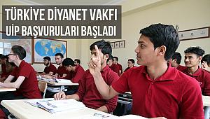 Türkiye Diyanet Vakfı UİP başvuruları başladı