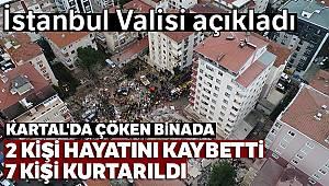 Vali Yerlikaya açıkladı: 2 kişi hayatını kaybetti