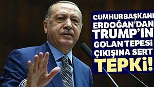Cumhurbaşkanı Erdoğan: 'Açıklama, bölgeyi yeni bir krizin eşiğine getirdi'