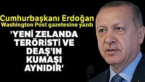 Cumhurbaşkanı Erdoğan: 'Yeni Zelanda teröristi ve DEAŞ'ın kumaşı aynıdır'