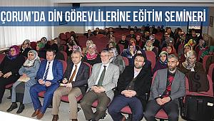 Din görevlilerine eğitim seminerİ