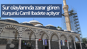 Kurşunlu Camii ibadete açılıyor