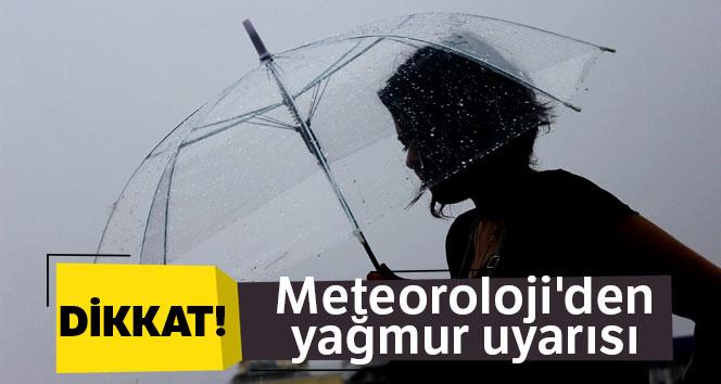 Meteoroloji'den yağmur uyarısı|23 Mart yurtta hava durumu