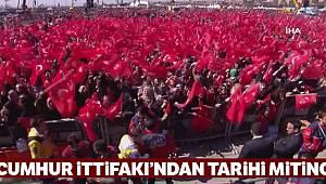 Vatandaşlar 'Cumhur İttifakı Büyük İstanbul Mitingi' için alana gelmeye başladı