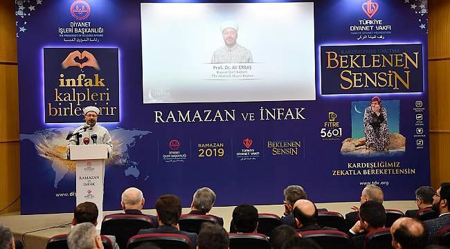 2019 yılı Ramazan ayı temasını belirledi.