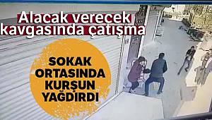 Bursa'da alacak verecek kavgasında çatışma çıktı, öfkeli şahıs karı kocayı ayağından vurdu