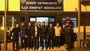 Gençlik Koordinatörlüğü'nden polislere ziyaret