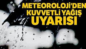 Meteoroloji'den kuvvetli yağış uyarısı |12 Nisan yurtta hava durumu