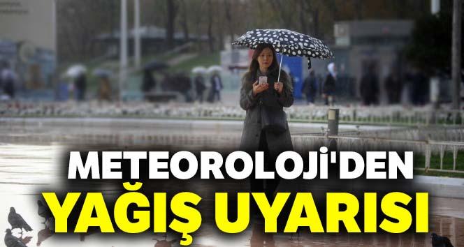 Meteoroloji'den yağış uyarısı |20 Nisan yurtta hava durumu