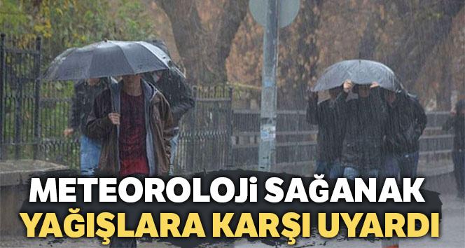 Meteoroloji sağanak yağışlara karşı uyardı, 13 Nisan 2019 yurtta hava durumu