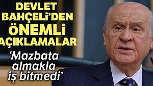 MHP lideri Bahçeli: 'Mazbata almakla iş bitmedi'
