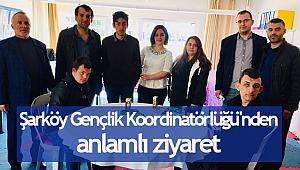 Şarköy Gençlik Koordinatörlüğü'nden anlamlı ziyaret