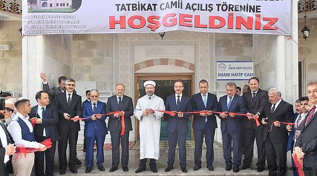 Başkan ERBAŞ dan Hizmet Binası Açılışarı