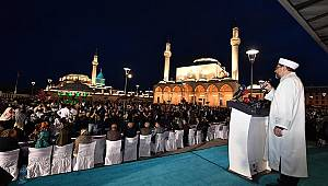 Başkan Erbaş, Konyalılarla iftar sofrasında buluştu