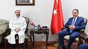 Diyanet İşleri Başkanı Erbaş, Konya'da
