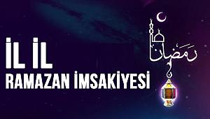 İl İl Ramazan imsakiyesi