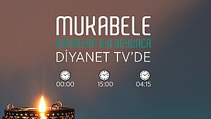 ''Mukabele'' Diyanet TV'de