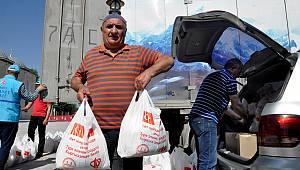 TDV'den Kırgızistan'a gıda yardımı