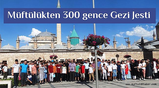 Çukurova Müftülüğüden 300 genç'e Konya'ya gezisi