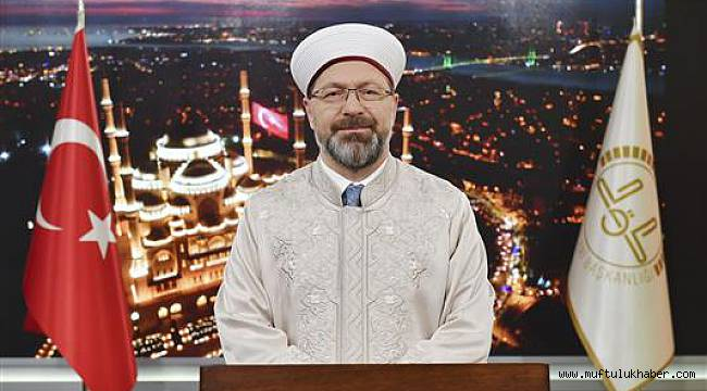 Başkan Erbaş'tan Ramazan Bayramı Mesajı