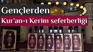 'Hediyem Kur'an Olsun' kampanyasına büyük destek