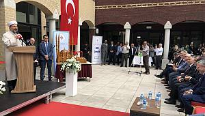 Hollanda Venlo Tevhid Camii dualarla ibadete açıldı