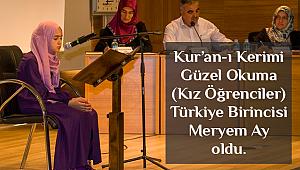 Kur'an-ı Kerim'i Güzel Okumu Türkiye Finali Van'da yapıldı