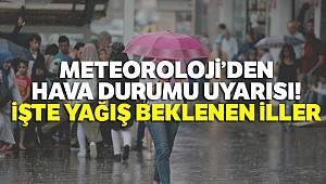 Meteoroloji'den hava durumu uyarısı: İşte yağış beklenen iller (27 Haziran yurtta hava durumu)