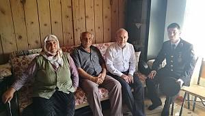 Müftü ORAL dan Şehit ailesine ziyaret