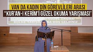 """Van da Kadın Din Görevlileri Arası """"Kur'an-ı Kerim'i Güzel Okuma Yarışması'"""