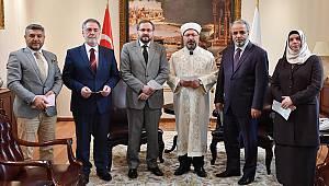 Başkan ve yardımcılarından TDV'ye Kurban Bağışı