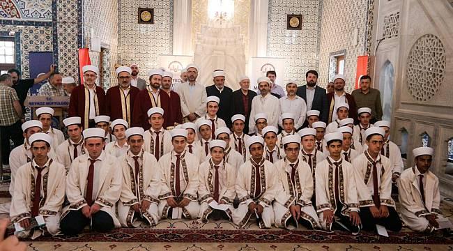 Beykoz Elmalı Kur'an Kursu'nda 33 Hafız'a icazet verildi