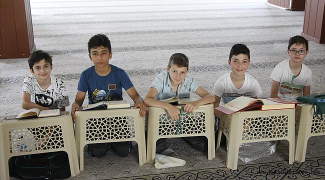 Bursa da Yaz Kur'an kurslarına büyük ilgi