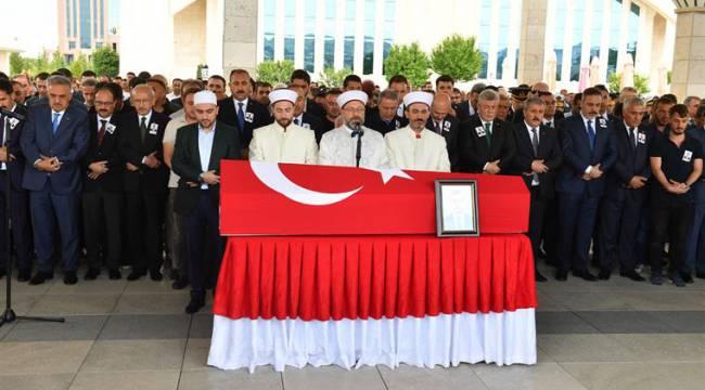 Erbil'de şehit düşen Köse son yolculuğuna uğurlandı