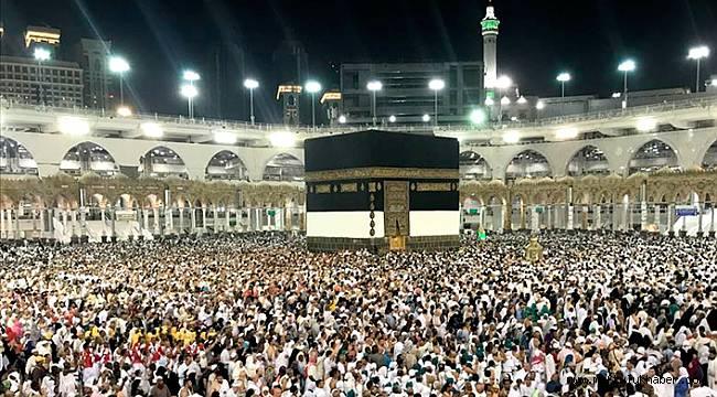 Hacı adaylarının sayısı 1 milyona yaklaştı