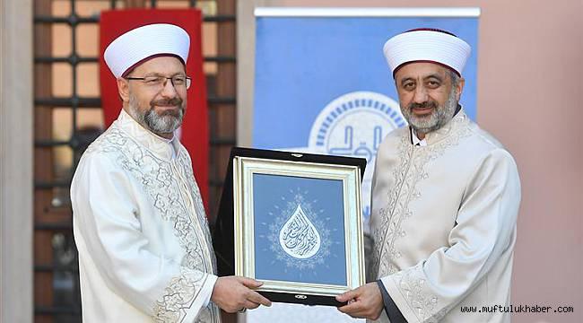 İstanbul Müftüsü MAŞALI göreve başladı