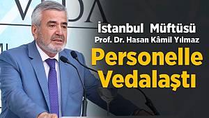 """İstanbul Müftüsü Yılmaz'a """" Veda"""" programı"""
