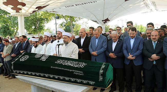 Mehmet Şevket Eygi son yolculuğuna uğurlandı