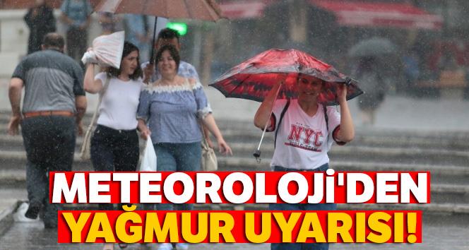 Meteoroloji'den yağış uyarısı |16 Temmuz yurtta hava durumu