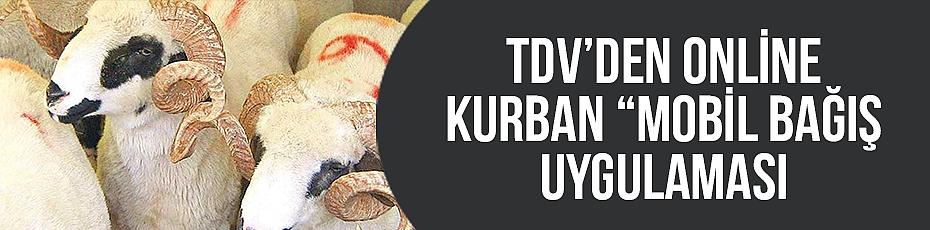 TDV den Online Kurban Mobil bağış uygulaması