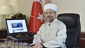 Başkan Erbaş'tan Hicri Yeni Yıl Mesajı