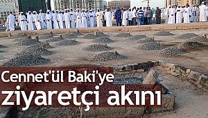 Cennet'ül Baki'ye ziyaretçi akını
